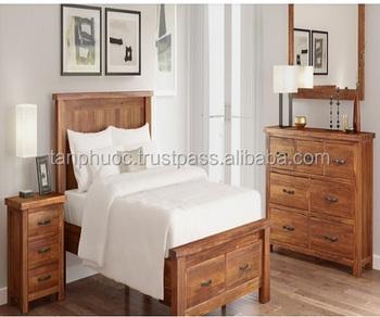 Bedroom Furniture/minimalist Bedroom Set/royal Furniture Antique Gold  Bedroom Sets - Buy Bedroom Furniture,Acacia Bedroom,Natural Bedroom Set  Product ...