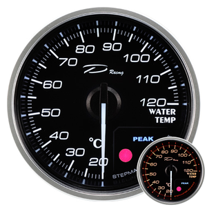 52mm water temperature thermometer auto gauge car gauge