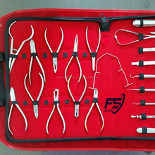 Orthodontic Instruments Set of 22 Pieces Professional Dental Tools