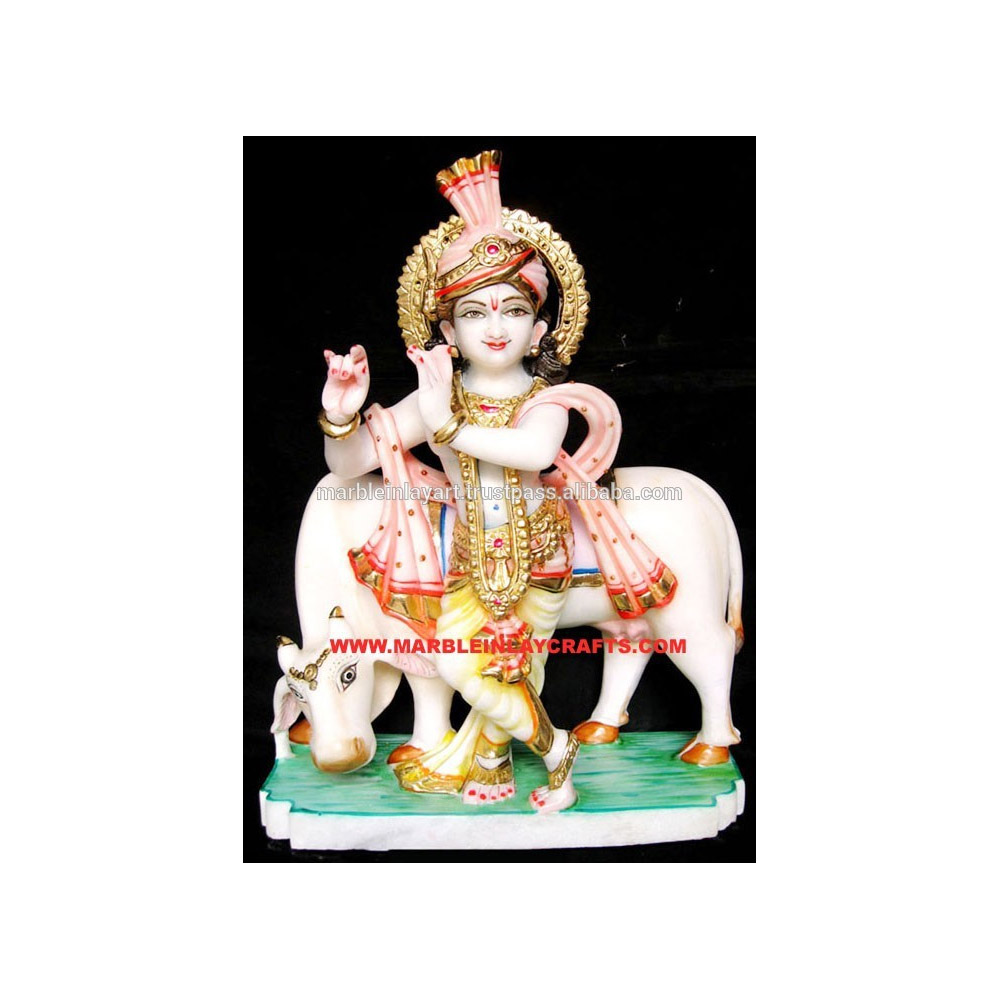 Shri Krishna Patung Marmer Buy Makrana Marmerbatu Rama Sita Patungkrishna Dekoratif Product On Alibabacom
