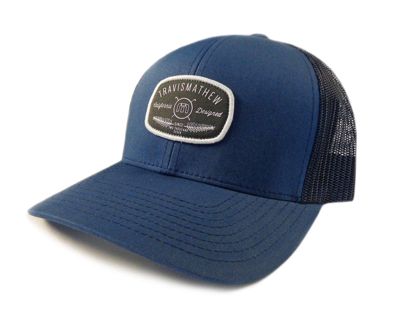 Buy NEW Travis Mathew Brockelman Iris Blue Adjustable Snapback Golf ... c78425c1bb3d