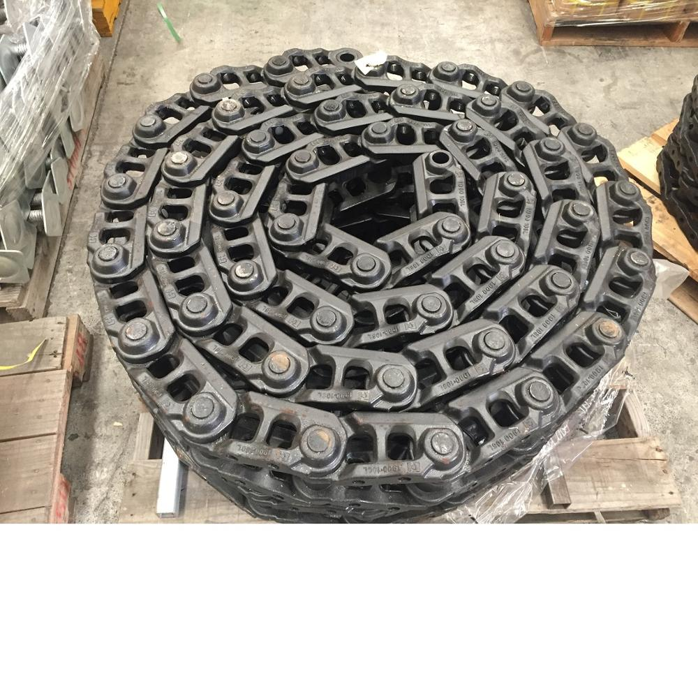 Undercarriage Parts One Side Track Chain Track Link 37 Sections for Hitachi Excavator EX60-2 in USA