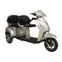 Electric Tricycle 60V 22Ah With Two Seat Made in Turkey