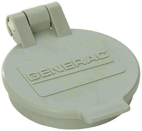 Generac 6393 Flip Lid Accessory for Power Inlet Box Models 6342/6343/6344/6336/6337 and 6338 by Generac