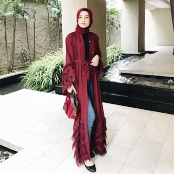 2019 New Design Wholesale Women Muslim Abaya Muslim Dubai Abaya Kimono