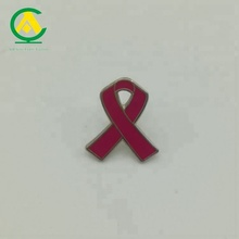Atacado Anjo Rosa Breast <span class=keywords><strong>Cancer</strong></span> <span class=keywords><strong>Awareness</strong></span> Ribbon Pin do Lapel