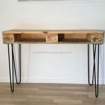 Stupendous Industrial Wooden Pallet Console Table Vintage Distressed Wooden Pallet Console Table Buy Antique Wood Console Tables Reclaimed Wood Console Cjindustries Chair Design For Home Cjindustriesco