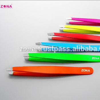 Slant Neon Tweezers / Get Eyebrow Tweezers Under Your Brand Name From Zona Pakistan