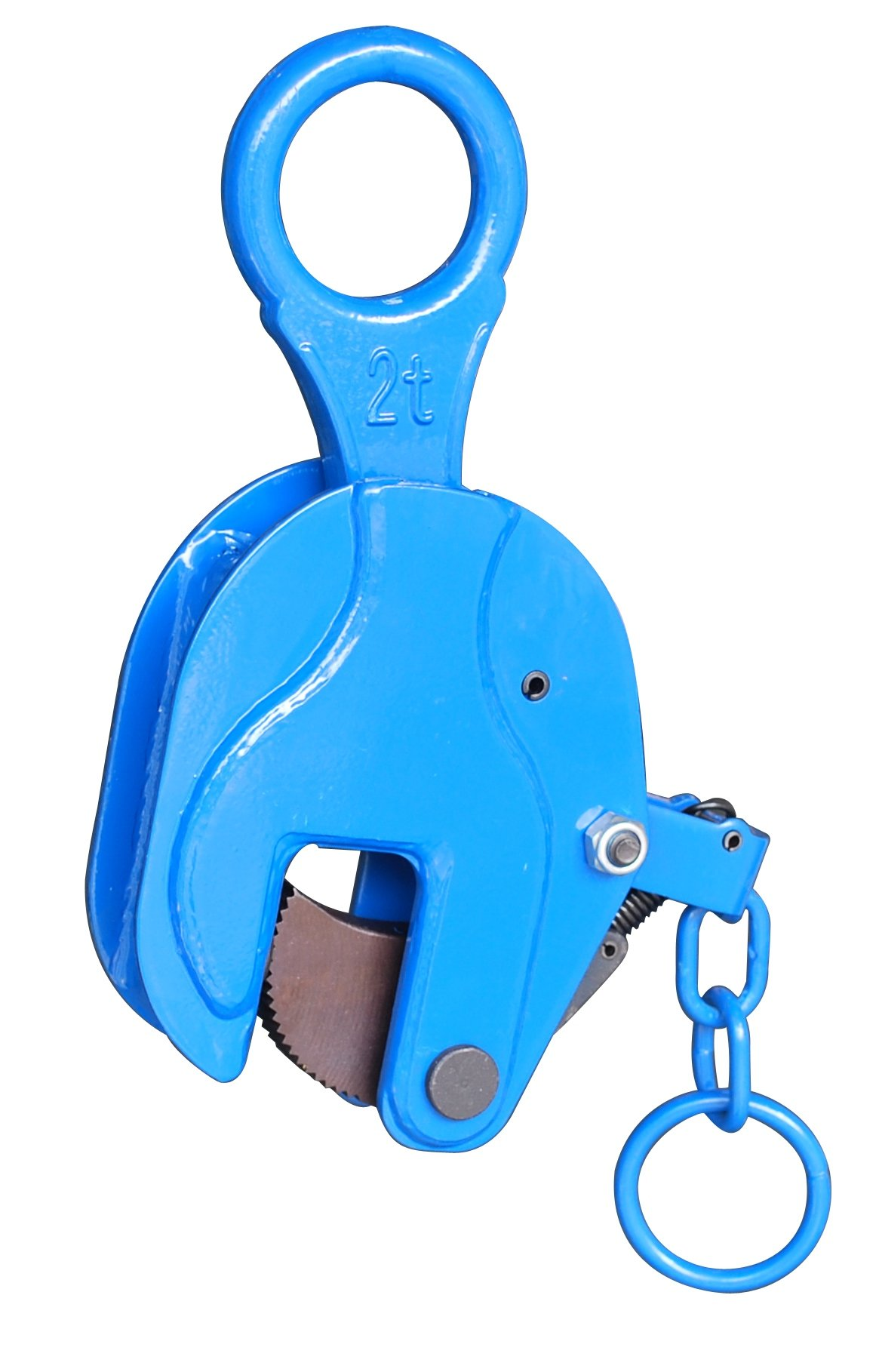 i-Lift Equipment ICDH3.2 Vertical Plate Clamp with Lock Handle, 7000 lb Working Load Limit