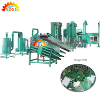 High voltage electrostatic separation scrap pcb recycling machine | e waste recycling machine