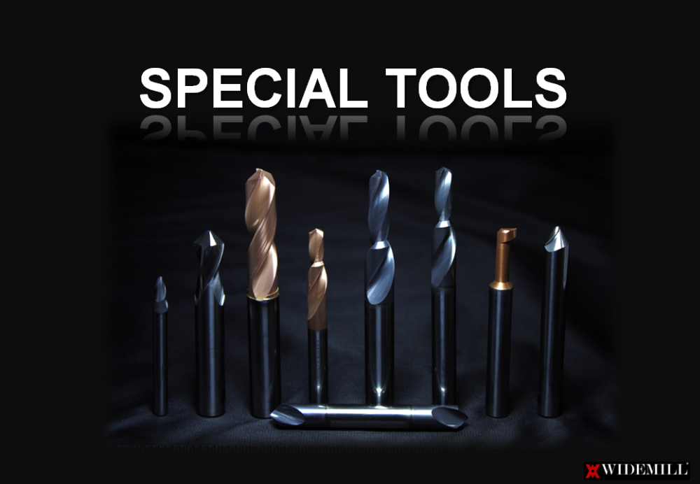 Various custom-made special tools