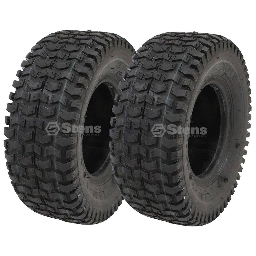 Stens 2 Kenda Tire 11x4.00-5 Turf Rider Tread 2 Ply Tubeless Lawnmower Golf Go Cart ATV, 1-513032 5110101