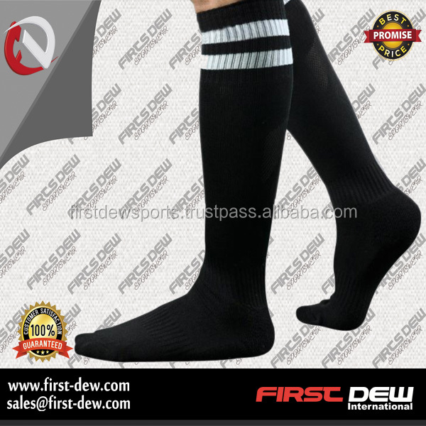Wholesale custom polyester soft soccer socks