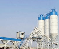 HZS25 High performance concrete Batching Plants fixed ready mixed cement mixer aggregate concrete mixing plant