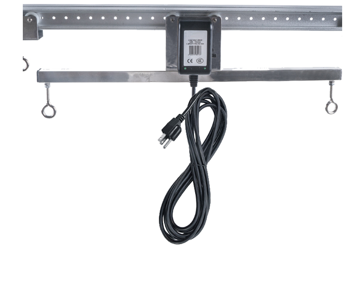 Adjustable Indoor Grow Light Mover For Hydroponic Lighting System