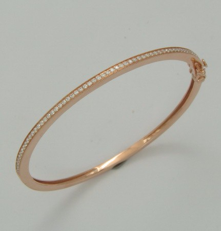 Best Brand Natural Rose Quartz Bangle For Women