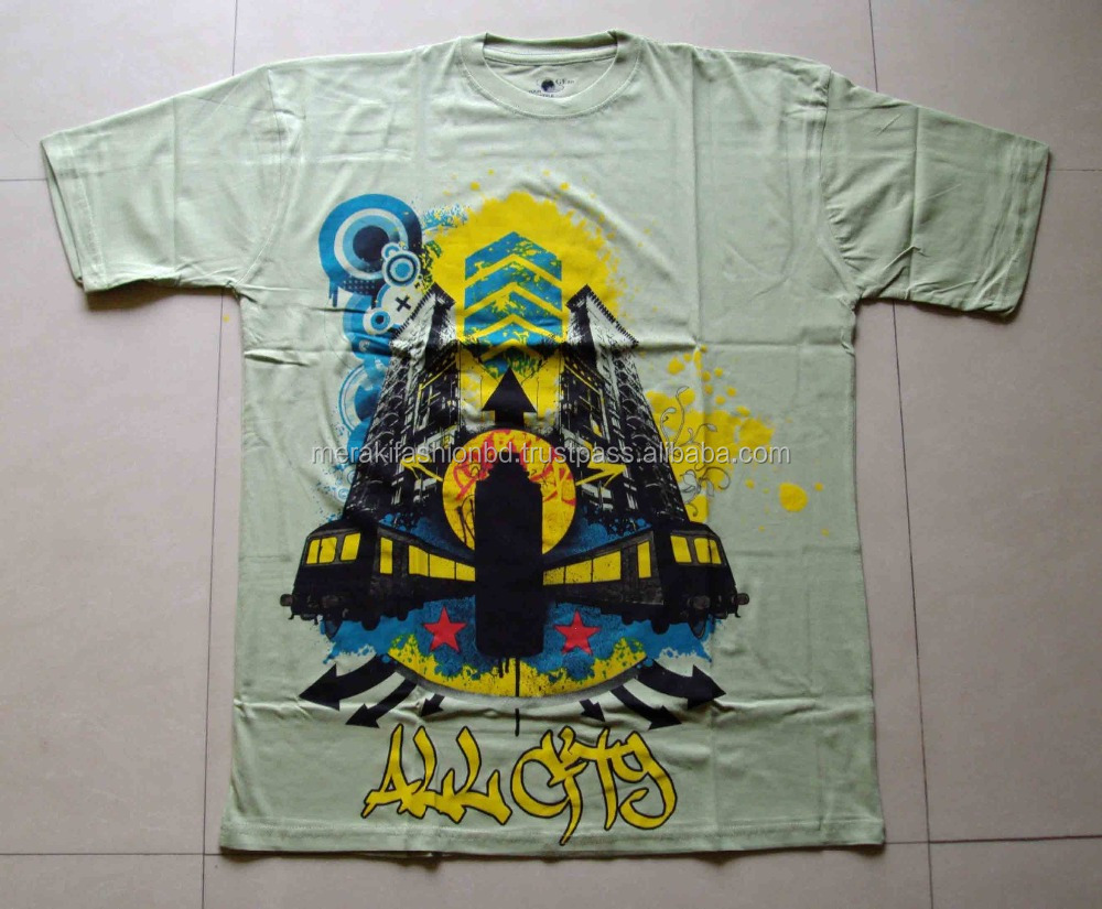 Custom Design Screen Print 100 Cotton Cheap Price Mens T Shirt