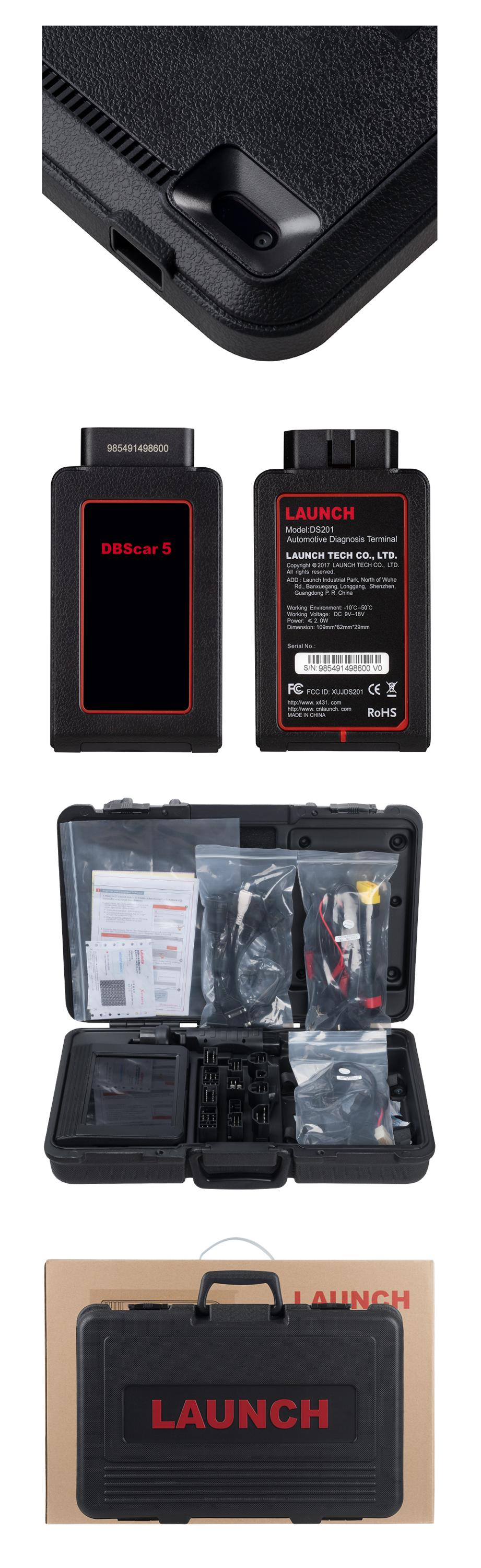 "OBDII Car Scanner Launch X431 V 8"" auto diagnostic tool with full OBD1 OBD2 Scanner X431V 8 inch scanner"