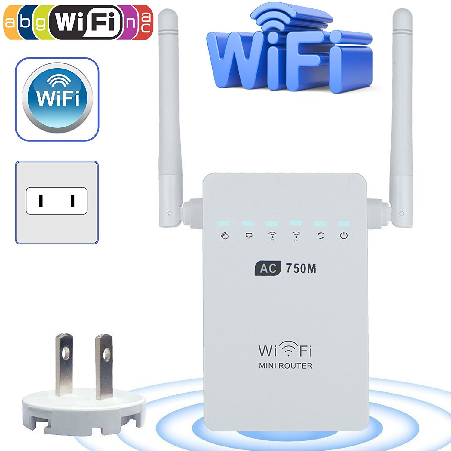 Cheap 5 8 Ghz Repeater Find Deals On Line At 24 Field Strength Meter Circuit With Optional Amplifier Get Quotations Wifi Range Extender Linkstyle Ac750 750 Mbps Signal Booster Dual Band