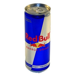 Red Bull Energy Drink (made in Austria all text available)