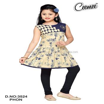 b740da24a357 Summer Cotton Printed Designer Kurtis For Girls - Buy New Pattern ...