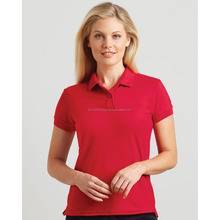 Custom wholesale polo t-shirt fit for women