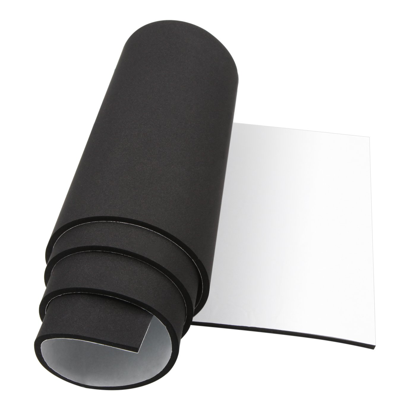 Get Quotations Neoprene Rubber Mat Foam Padding Roll Self Adhesive Weather Stripping Non Slip Insulation