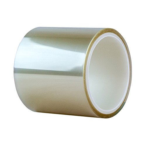 "TIERRAFILM Cake Collar, Chocolate and Cake Decorating Acetate Sheet CLEAR ACETATE ROLL - Various Sizes (3"" x 16 feet 125 micron)"