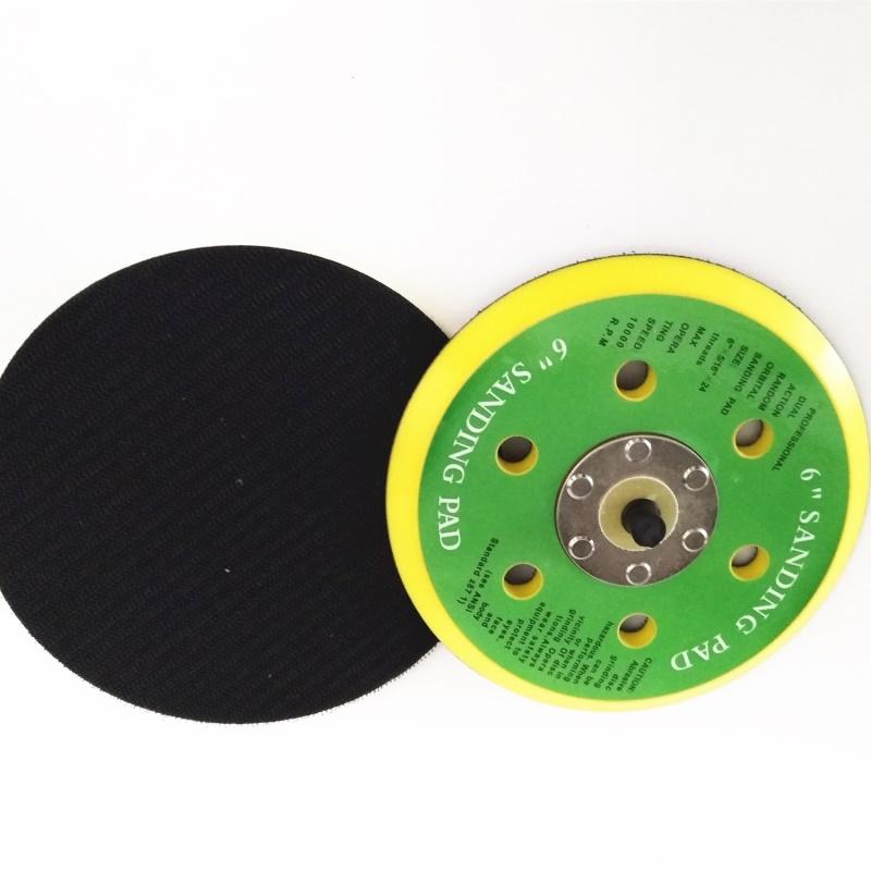 150mm Dual Action Hook//Loop DA Orbital Sanding Sander Backing Pad 5//16 Thread 6