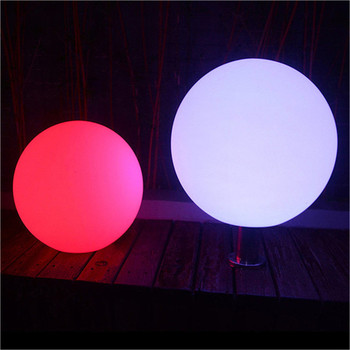 decorative garden lamp rechargeable outdoor solar led stone ball light swimming pool ball light