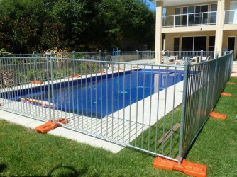 Cheap Galvanized Free Standing Portable Temporary Fencing For