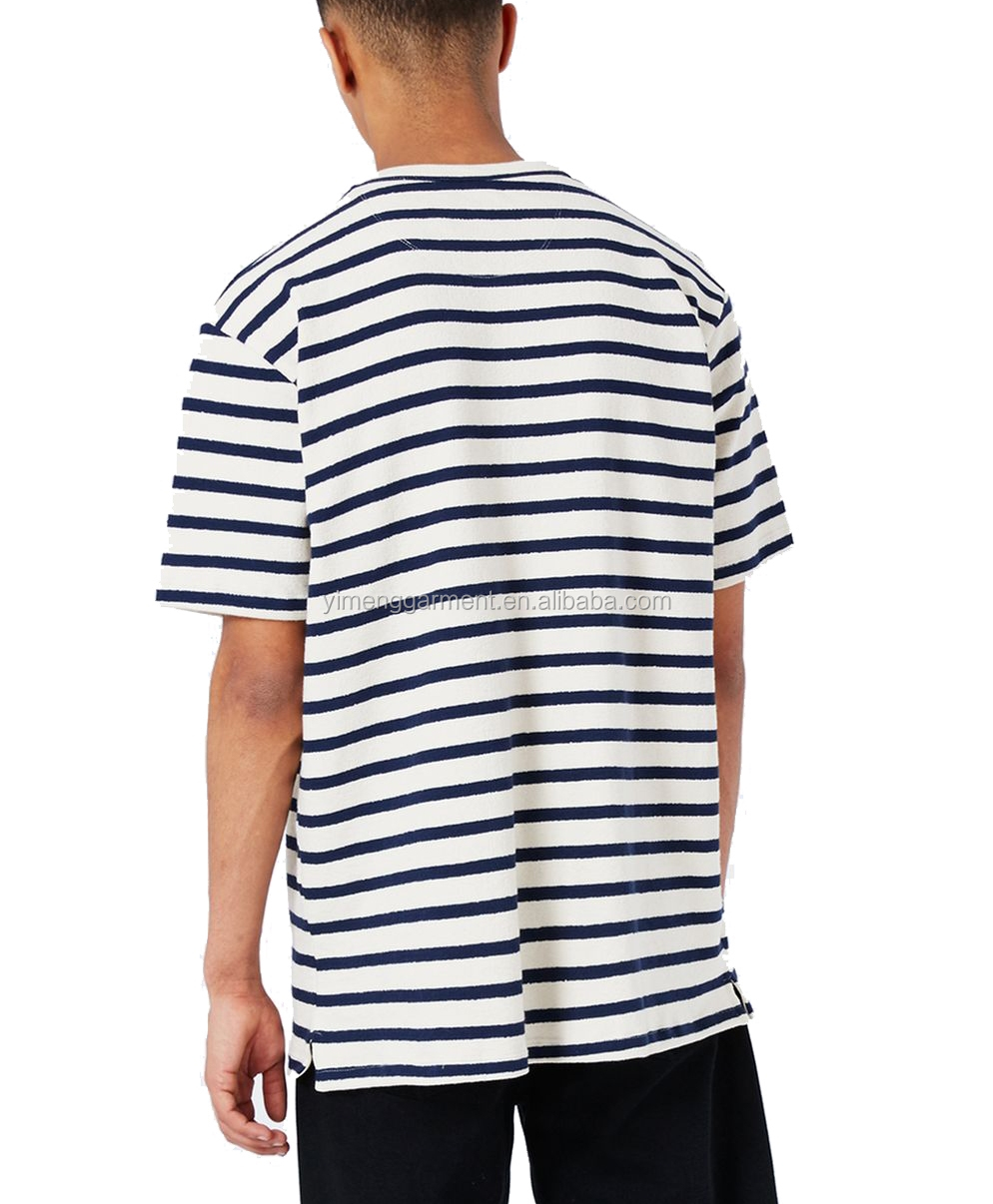 Korean Street Fashion Short Sleeve Cotton Men T Shirt In White And