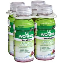 Lil' Wonder 100% All Natural Pediatric Oral Electrolyte - Grape (4pk - 8fl oz)