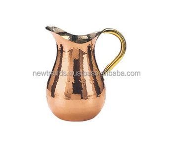 Copper Water Pitcher 76oz