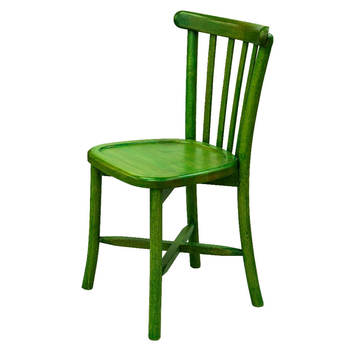 Painted Wooden Coffee Shop Chair