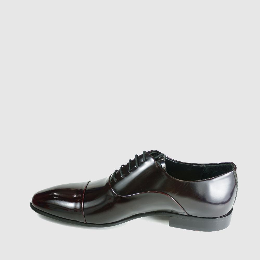 Italian Genuine Oxfords Formal Mens Shoes Dress Leather Luxury 2018 Leather ATFIx