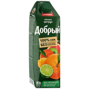 Sugar Free CITRUS BLEND Fruit (LIME LEMON ORANGE GRAPEFRUIT APPLE JUICE)  DOBRY Juice