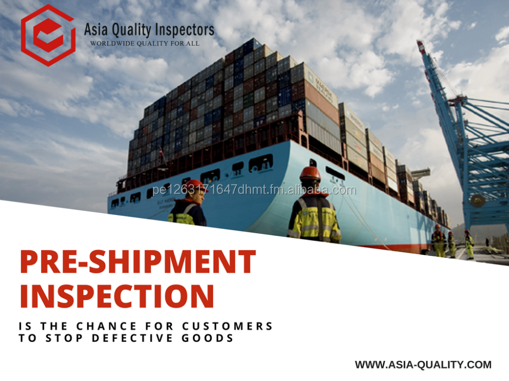 Pre-Shipment Inspection- Third Part- China- Asia Quality Inspectors