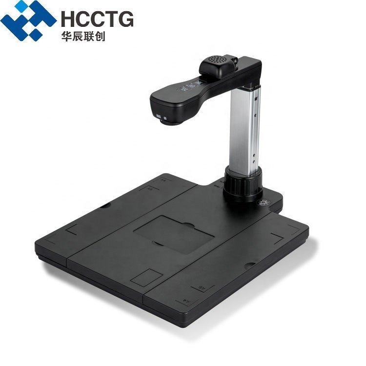High Resolution Camera Flat Bed Large Format Automatic Document Photo Book Scanner HCS1200S
