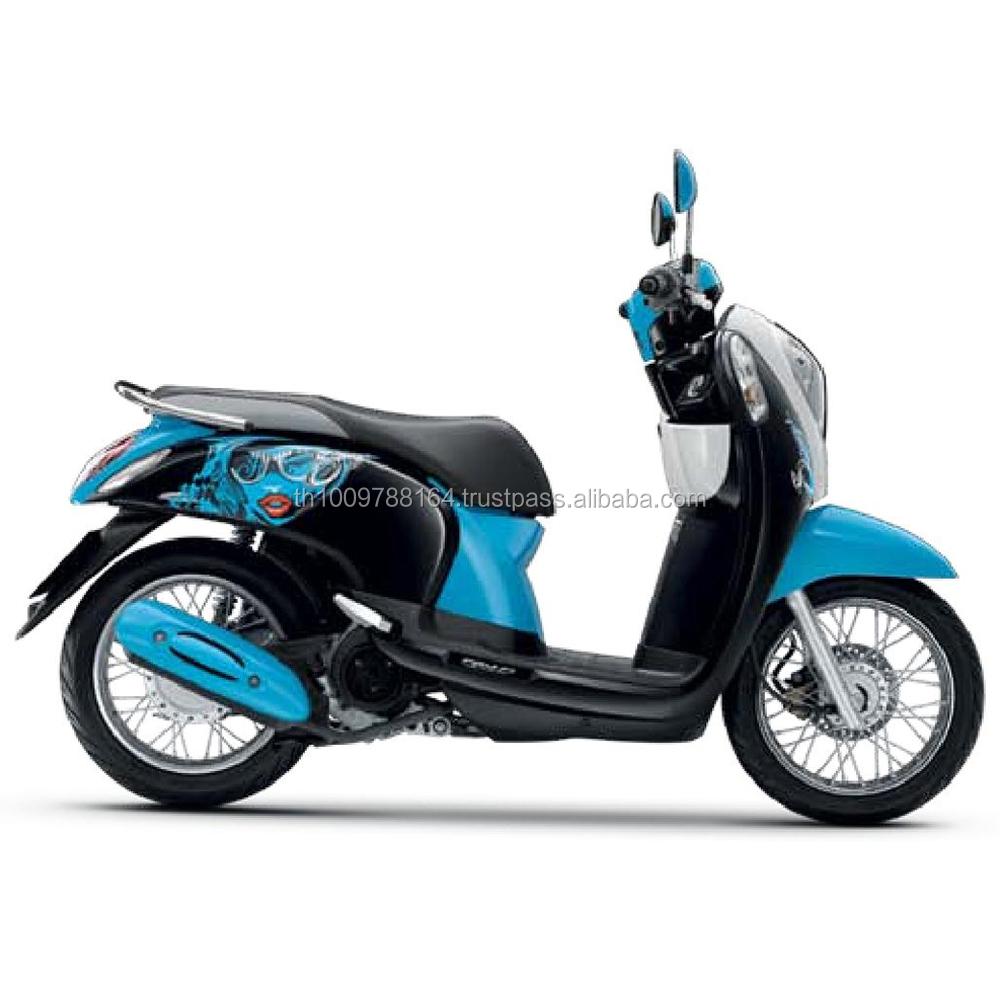 2017 Baru Scoopy I Hitam Warna Biru Sepeda Motor Otomatis Buy