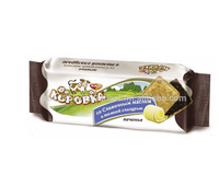 Russian butter and glazed cookies 115g KOROVKA