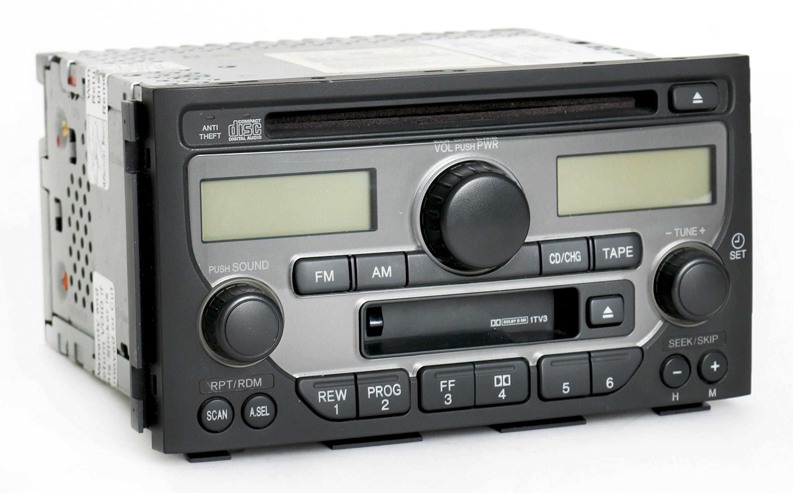 Get Quotations · Honda Pilot 2003-2005 Radio AM FM CD Cassette Player  39100-S9V-A120
