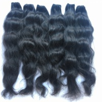 Strong Full Head Human Hair natural textures high quality virgin hair remy hair