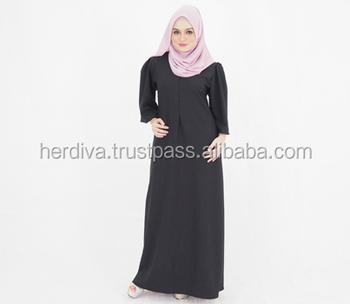 56 Gaya Baju Casual Muslimah Malaysia Terlihat Keren