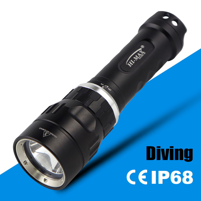 High Power Rechargeable Dive Flash Light With U2 <strong>Cree</strong> LED