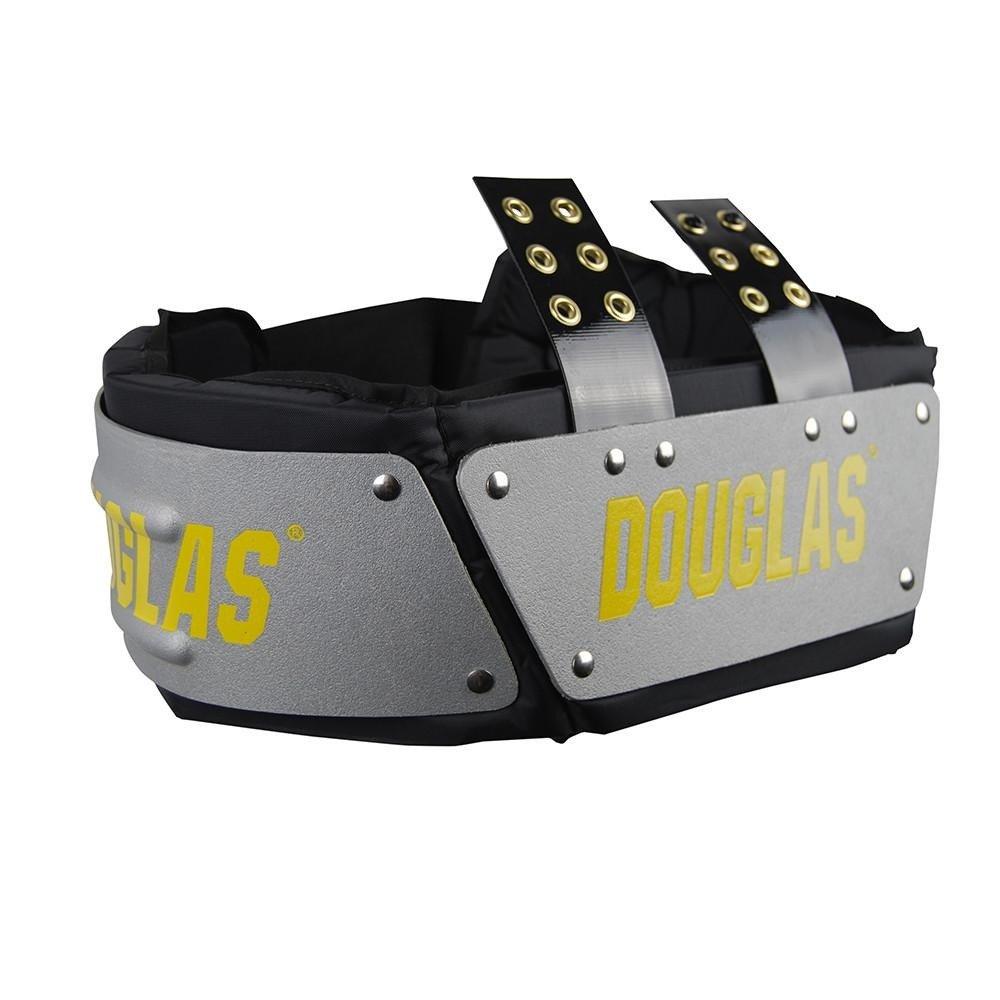 """Douglas Football Adult Adjustable 4"""" Battlefield Rib Spine Back Pads Pad Combo"""