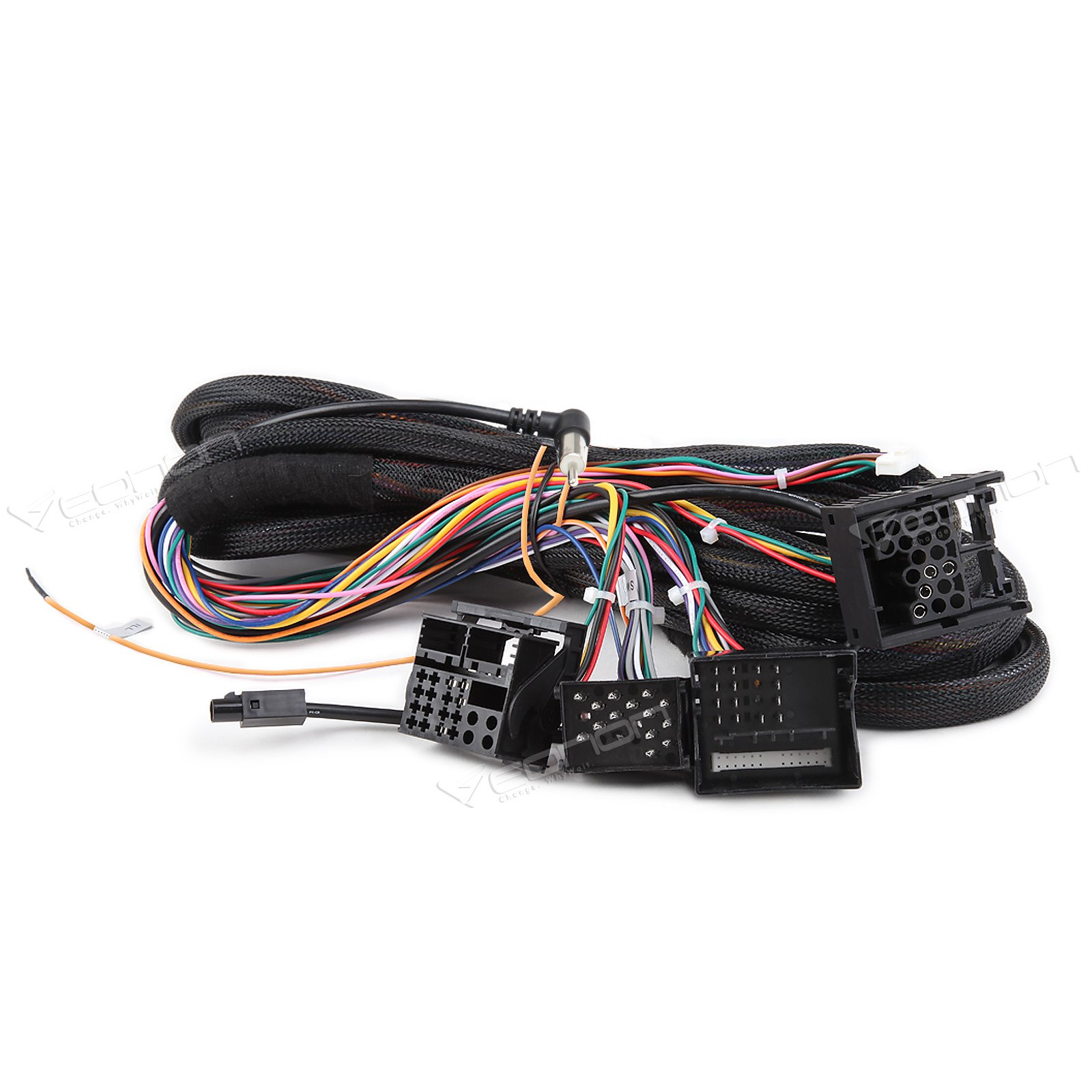 Buy Eonon A0577 Extended Installation Wiring Harness for Eonon ... on bmw e46 speaker wiring, engine wiring harness, iso wiring harness, bmw led angel eyes, bmw e30 wiring harness, bmw wiring diagrams, bmw wiring harness connectors, bmw harness to pioneer, bmw electric pump connectors,