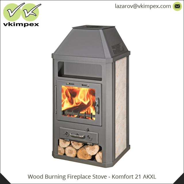 High Efficiency Wood Burning Fireplace Stove Komfort 21 Akxl