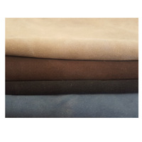 Clearance Price!! Direct factory Wholesale 0.8-1.6 Cow Split Suede Finished Leather