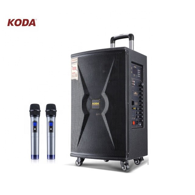 Strong powerful stage speakers outdoor performance HIFI trolley party